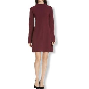 Theory NWT Dress Dolman Shift 4 Admiral Mulberry